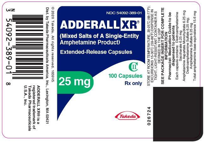 xr Adderall adult average dose