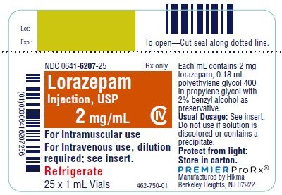 lorazepam schedule iv prescription expiration