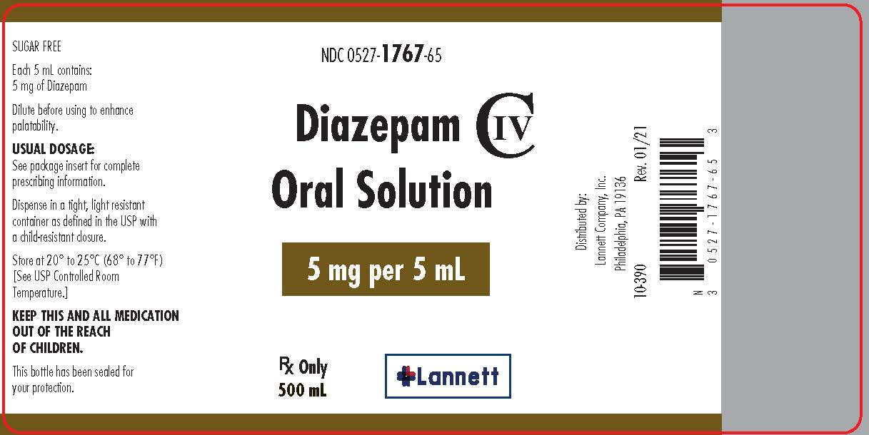 diazepam iv to oral