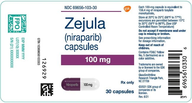 Zejula Fda Prescribing Information Side Effects And Uses