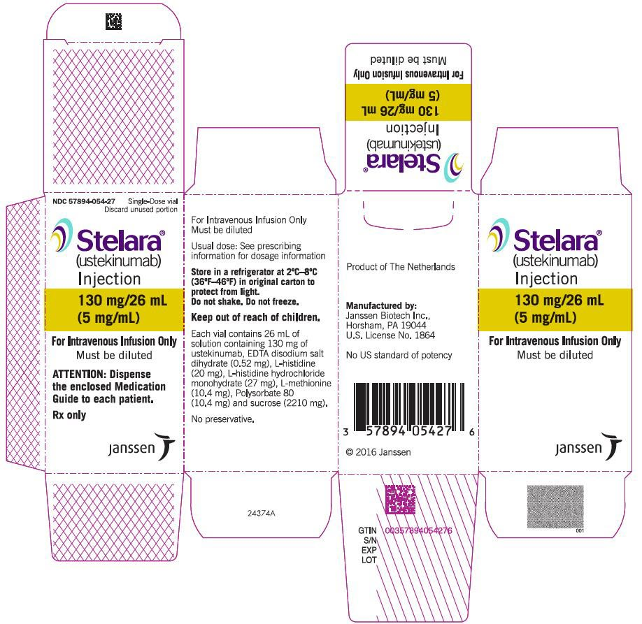 Stelara - FDA prescribing information, side effects and uses