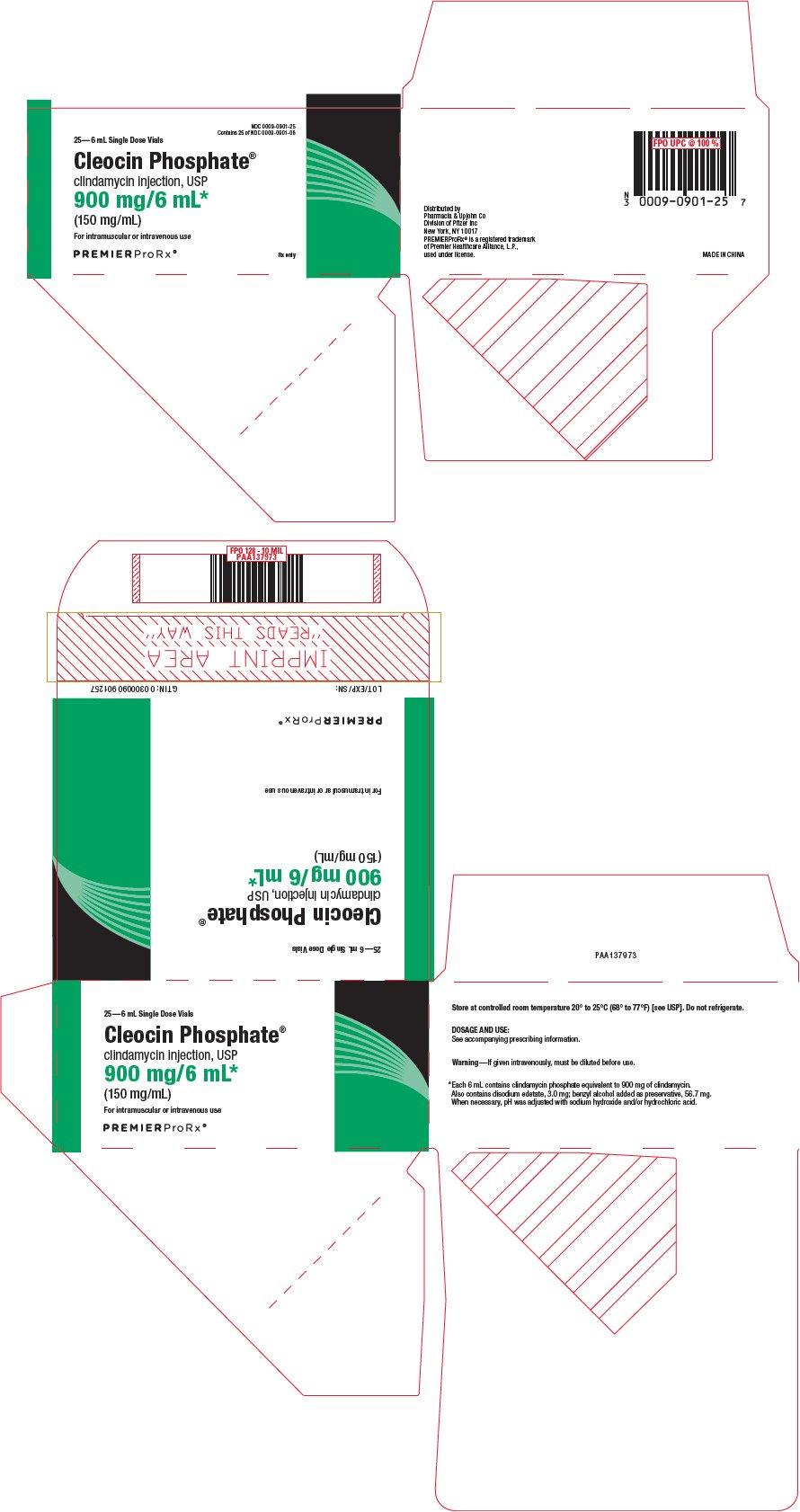 Cleocin Phosphate - FDA prescribing information, side