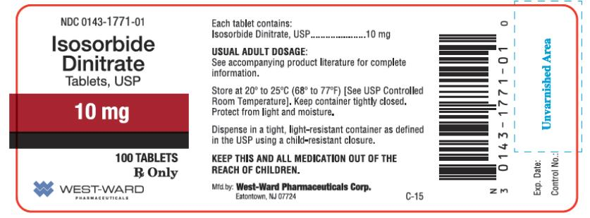 Isosorbide Dinitrate Bp 10mg