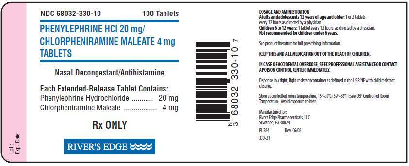 PHENYLEPHRINE HYDROCHLORIDE, CHLORPHENIRAMINE MALEATE phenylephrine  hydrochloride, chlorpheniramine maleate tablet